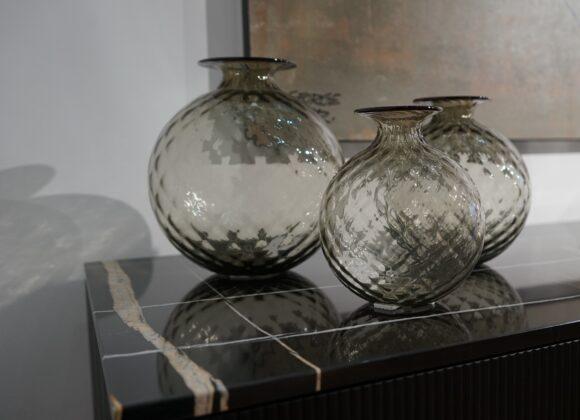 Venini – Vaso Monofiore Balloton (Ø 18 cm)